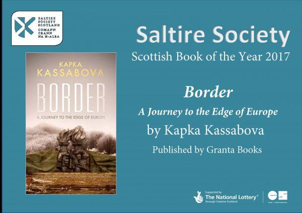 Saltire Society Book Awards 2017